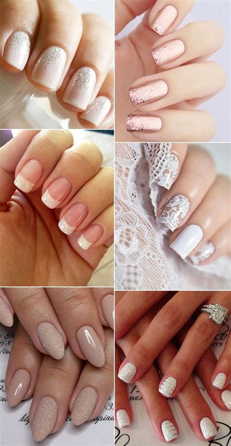 12 Perfect Bridal Nail Designs for Your Wedding Day   Oh