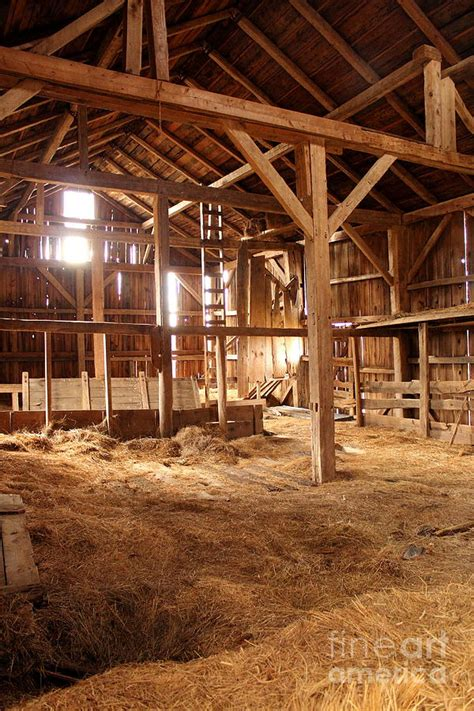 light inside an barn photograph by christopher jones