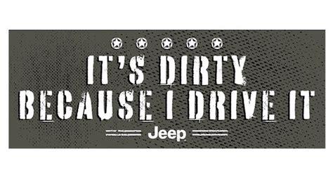 jeep bumper stickers 8 quot jeep quot it s quot bumper sticker 11djd