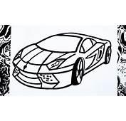 Como Dibujar Un Carro  How To Draw A Car Desenhar