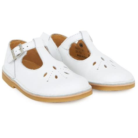 start rite white leather t bar shoes alexandalexa