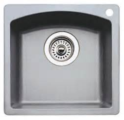 Blanco Bar Sinks by Blanco 440203 Silgranit Ii Bar Sink Dual Mount