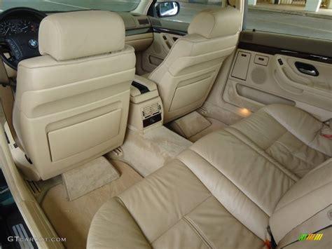 bmw e38 interior 1997 bmw 7 series 740il sedan interior color photos