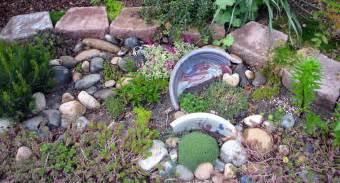 Miniature Rock Garden Desert Wind Designs My Garden Image Heavy
