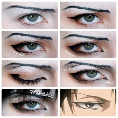 Male Anime Eyes Makeup Tutorial Kichijoji Eikaiwa Info