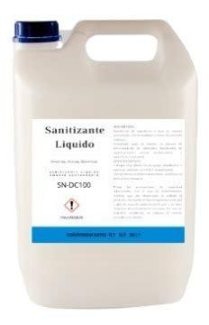 sanitizante liquido en mercado libre mexico