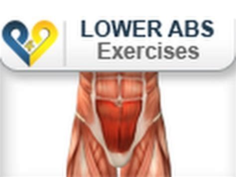 lower abs exercises 4 times abs