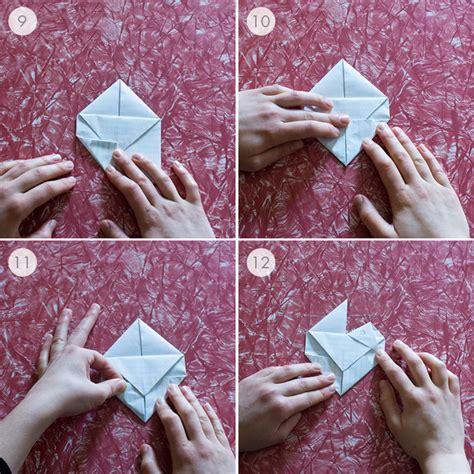 How To Fold Notebook Paper Into A - origami paper note tutorial origami handmade