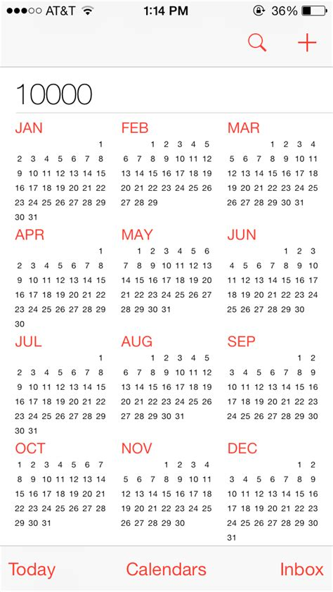 10000 Year Calendar 10 000 Year Calendar 187 Calendar Template 2017