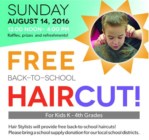 cheap haircuts in durham nc free back to school haircuts for kids in cary triangle
