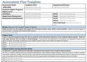 Assessment Plan Template by Pin Needs Assessment Template Portfolio Analysis On