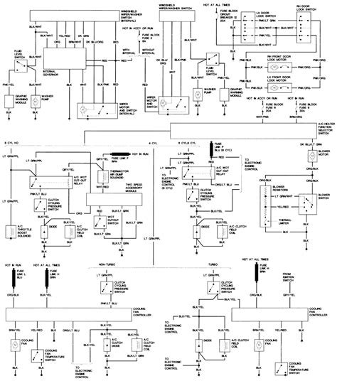mustang gt efi  carb wiring diagram ford mustang forum