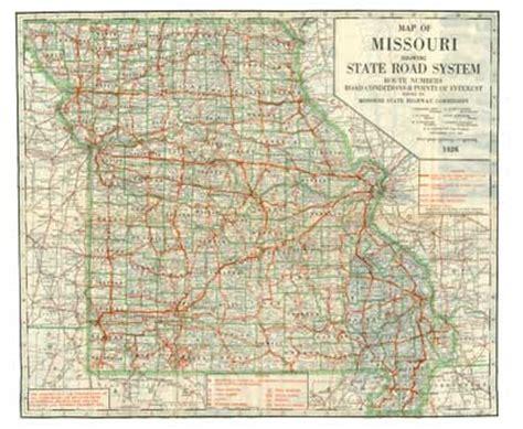 missouri road map missouri highway map