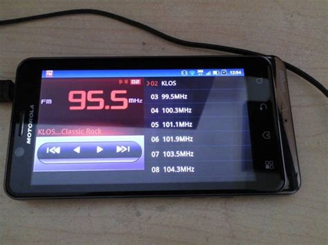 fm radio android motorola droid 3 fm radio app works for the bionic android community