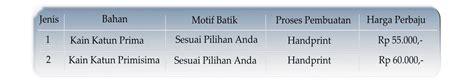 Kain Batik Batik Handprint 24 seragam batik bandung untuk sekolahan maupun kantor