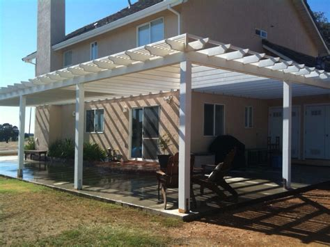 pergola attached to house roof thediapercake home trend