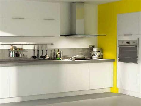 cuisine blanche et jaune cuisine blanche 20 id 233 es d 233 co pour s inspirer deco cool