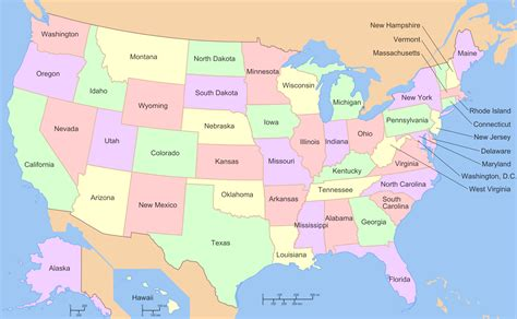 map of the united states with names de rechte grenzen de vs louisiana purchase