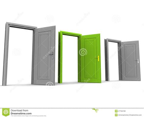 Right Door by Right Door Royalty Free Stock Images Image 27794199