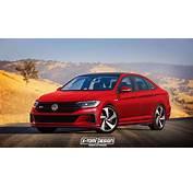 2019 Volkswagen Jetta GLI And R Rendered  Autoevolution
