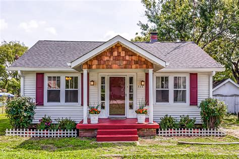 Small Homes With Curb Appeal Cottage Exterior Makeover Home Ideas For Curb Appeal