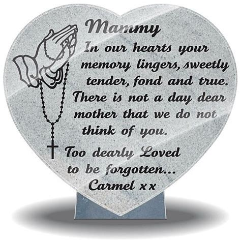 sympathy gifts loss mother with praying hands and rosary beads