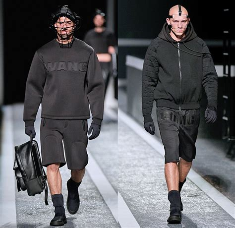 menswear denim winter 2015 trends alexander wang x h m 2014 2015 fall winter mens runway