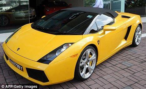 stelan car yellow chef s bright yellow lamborghini stolen after