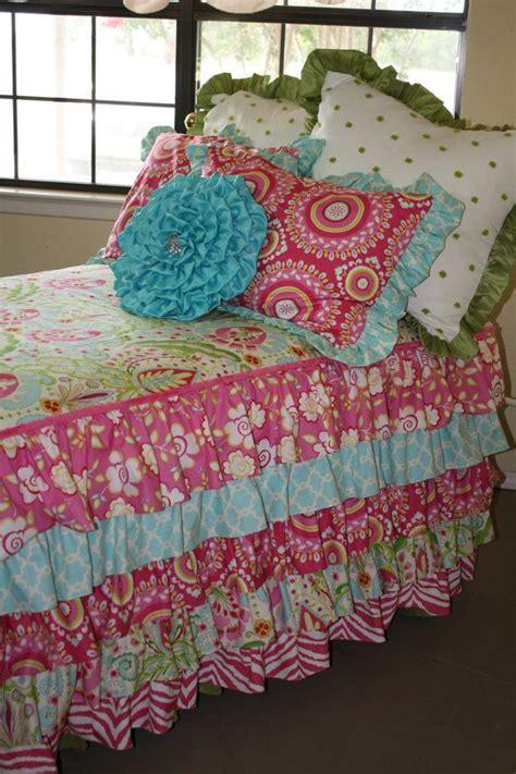 girly bedding girly girl custom twin tweener bedding