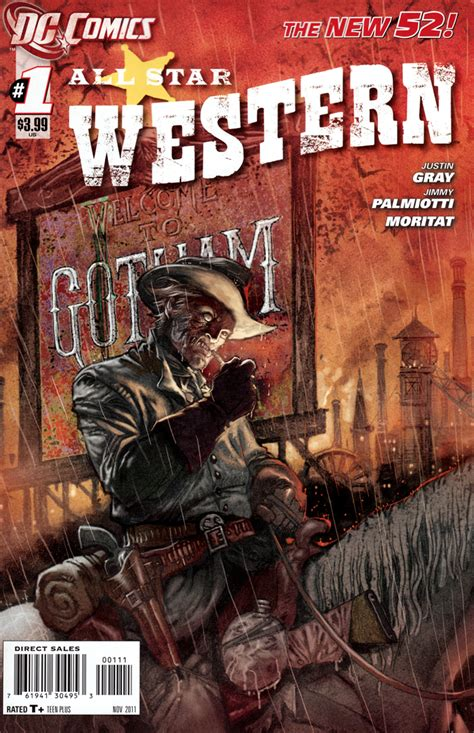 comic book review all western 1
