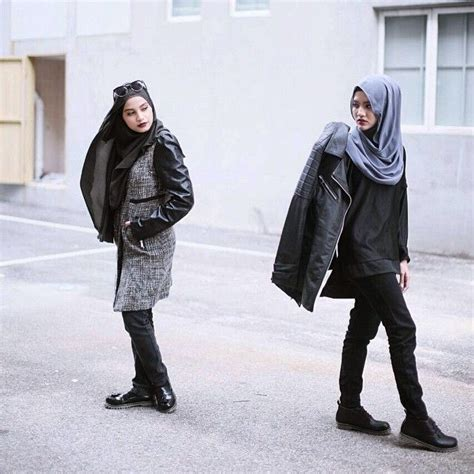images  tomboy hijab outfits  pinterest