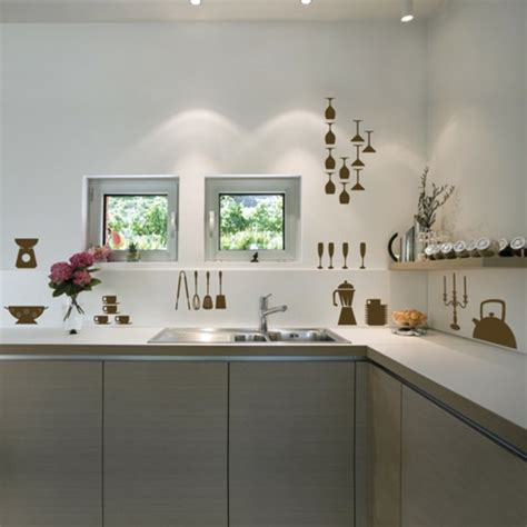 küche akzent wand ideen k 252 che wandgestaltung grau