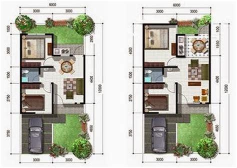 desain layout rumah type 54 contoh desain rumah minimalis type 54 terbaru 2016