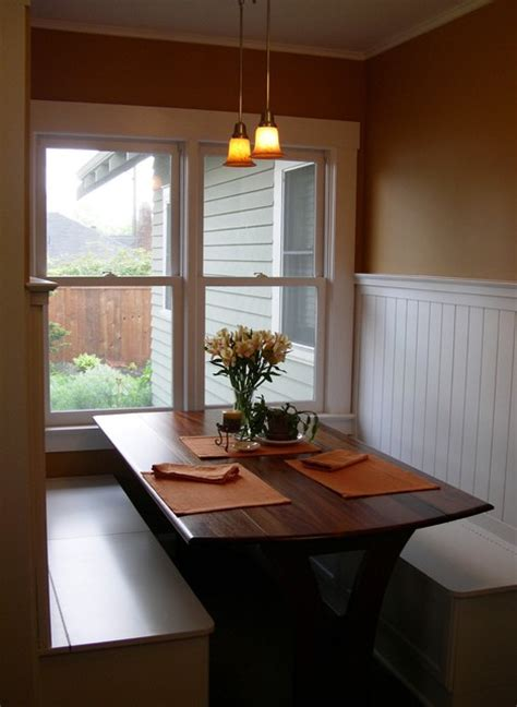 dining room nooks bungalo eating nook traditional dining room portland