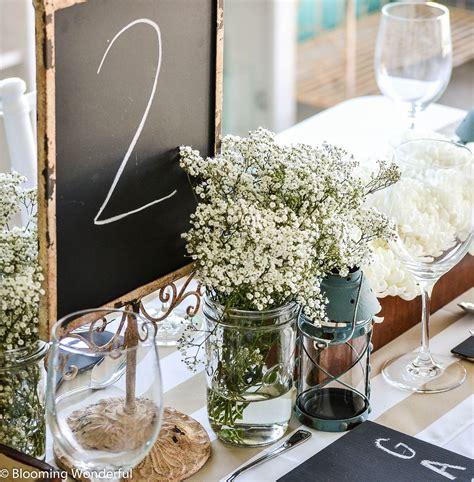 diy rustic ideas wedding receptions