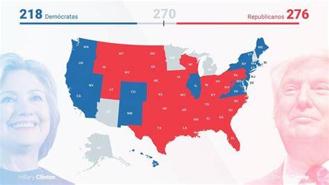 mapaor de elecciones usa 2016 resultados elecciones estados unidos 2016 mapa de estados