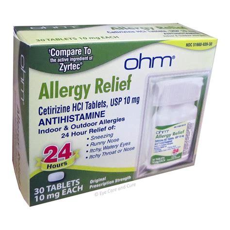 Cetirizine 10 Mg cetirizine hcl 10 mg 30 tablets