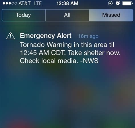 cell phone alert light cell phone alerts provide quick notice during storms