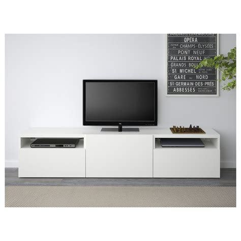 besta tv best 197 tv bench lappviken white 180x40x38 cm ikea