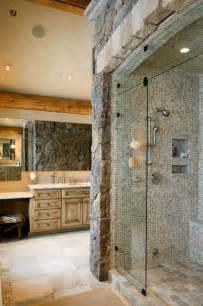 Elegant Rustic Bathroom Ideas - rustic elegance rustic bathroom by rocky mountain