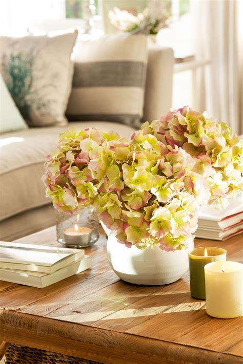 decoracion mesas centro las 25 mejores ideas sobre centros de mesa de hortensia