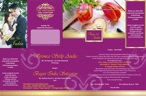 template undangan pernikahan unik cdr template desain undangan pernikahan ultah khitanan