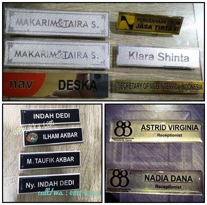 Nama Dada Name Tag Kuningan Resin Peniti Produk 10 nama dada murah name tag sokka advertisng pusat nama dada medali pin piala hp wa di 813