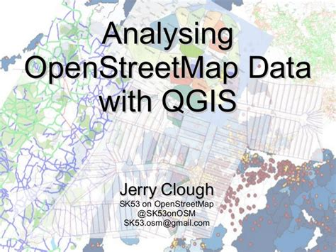 qgis tutorial openstreetmap analysing openstreetmap data with qgis