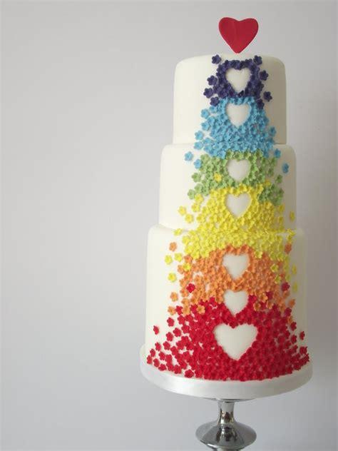 Colorful Wedding Cakes 10 colorful wedding cakes