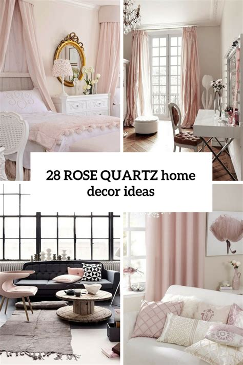 home deco ideas picture of rose quartz home decor ideas cover