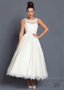 tea length wedding dresses uk loulou bridal 1950s inspired wedding dresses ooh mrs