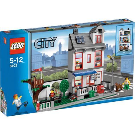 City Set onetwobrick set database lego 8403 city house