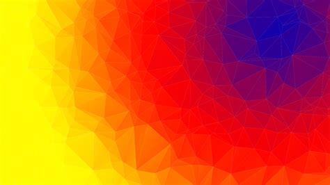 segitiga gradien radial  vector graphic  pixabay