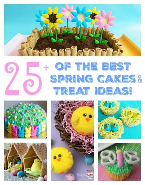 Kitchen Decor Ideas Themes The Best Spring Cake Amp Treat Ideas For Easter Kitchen